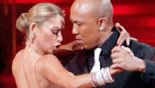 See photos of Hines Ward and Kym Johnsons performances throughout Dancing With The Stars season 12. - Provided courtesy of ABC / Adam Taylor