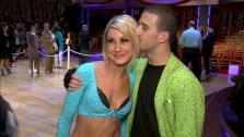 Chelsea Kane talks to OnTheRedCarpet.com after week 10 of season 12 of Dancing With The Stars, on May 23, 2011.