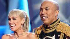 Hines Ward and his partner Kym Johnson perform their freestyle on Dancing With The Stars on May 23, 2011. - Provided courtesy of OTRC