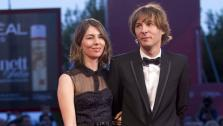 Director Sofia Coppola and musician Thomas Mars arrive for the screening of the film Somewhere at the 67th edition of the Venice Film Festival in Venice, Italy, Friday, Sept. 3, 2010. - Provided courtesy of AP / Andrew Medichini
