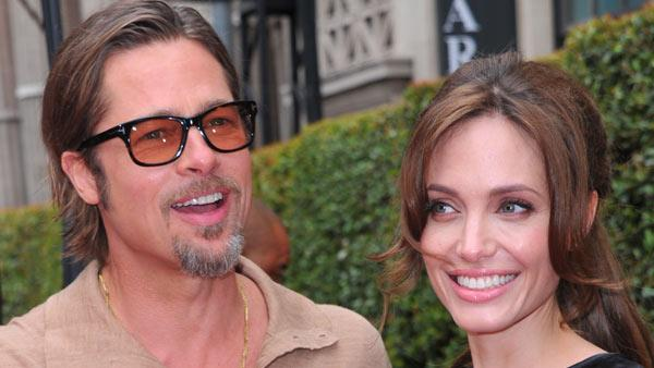 Angelina Jolie and Brad Pitt arrive at DreamWorks Animations Kung Fu Panda 2 Los Angeles Premiere held at Graumans Chinese Theatre on May 22, 2011 in Hollywood, California. - Provided courtesy of Alberto E. Rodriguez / Getty Images / Royalty-free