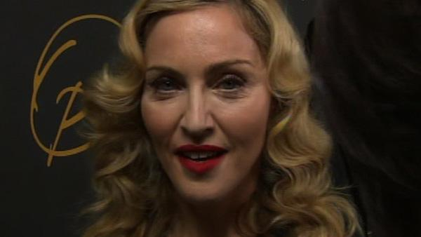 Madonna appears backstage at the taping of Oprah Winfreys farewell show in Chicago on May 17, 2011. - Provided courtesy of WLS