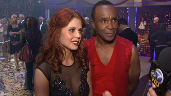 Sugar Ray Leonard  speaks after the season 12 finale on Dancing With The Stars: The Results Show on May 24.