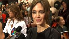 Angelina Jolie talks to OnTheRedCarpet.com at the premiere of Kung Fu Panda 2. - Provided courtesy of OTRC