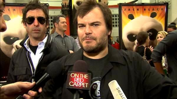 Jack Black talks 'Kung Fu Panda 2'