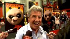 Dustin Hoffman talks to OnTheRedCarpet.com at the premiere for Kung Fu Panda 2. - Provided courtesy of OTRC
