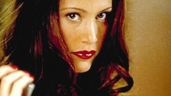 Shannon Elizabeth appears in a still from her 2001 film, Tomcats. - Provided courtesy of Columbia Pictures / Joseph Viles