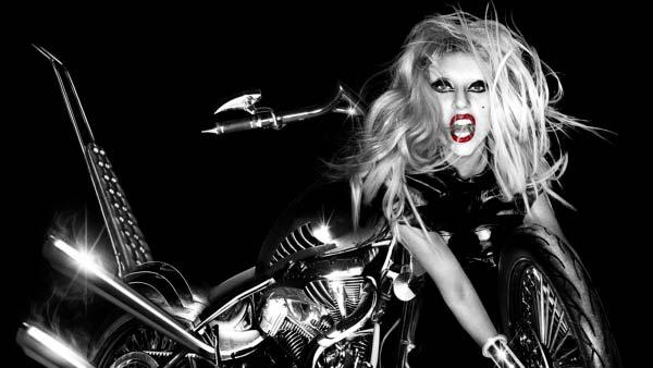 Lady Gaga appears on the cover of her album Born This Way - Provided courtesy of Universal Music Group