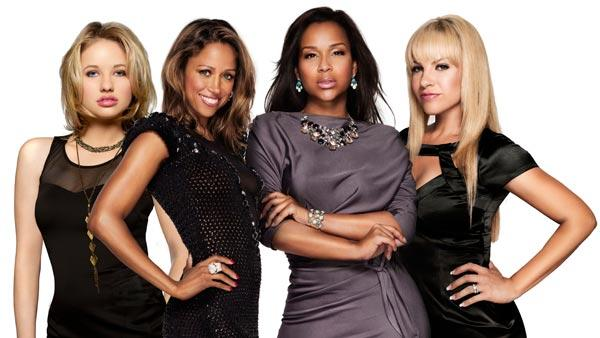 Kassandra Clementi, Stacey Dash, LisaRaye McCoy and Charity Shea appear in a promotional photo for the VH1 show, Single Ladies. - Provided courtesy of VH1