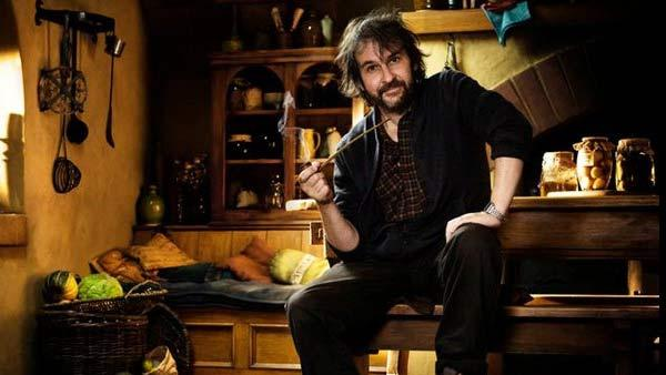 Peter Jackson in a 2011 photo from the set of The Hobbit films. - Provided courtesy of facebook.com/PeterJacksonNZ
