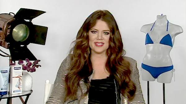 Khloe Kardashian talks to OnTheRedCarpet.com in a satellite interview in May 2011.