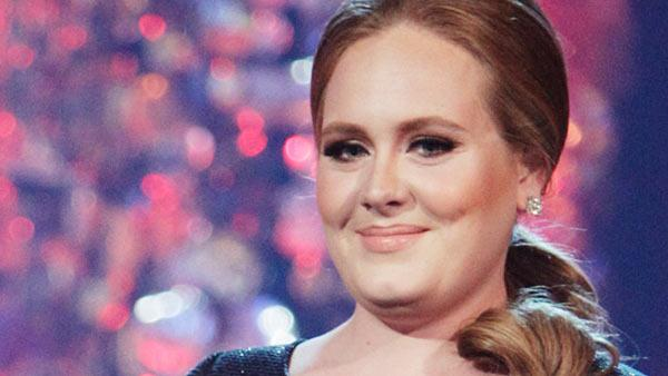 Adele performed Rolling Deep on the Dancing With The Stars stage on Tuesday, May 10, 2011. - Provided courtesy of OTRC
