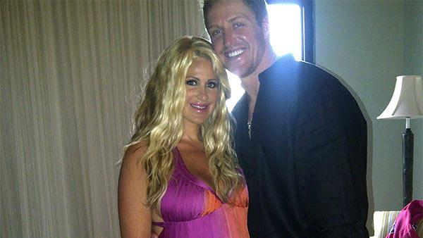 Kim Zociak and Kroy Biermann appear in a photo posted on her website. - Provided courtesy of kimzolciak.com