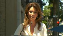 Grammy-winning singer Shania Twain was honored with a star on the Hollywood Walk of Fame on Thursday, June 2. - Provided courtesy of OTRC