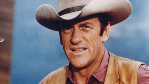 In this undated publicity image released by CBS, Actor James Arness is shown as Marshal Matt Dillon in 'Gunsmoke.' Arness died Friday, June 3, 2011 of natural causes. He was 88.