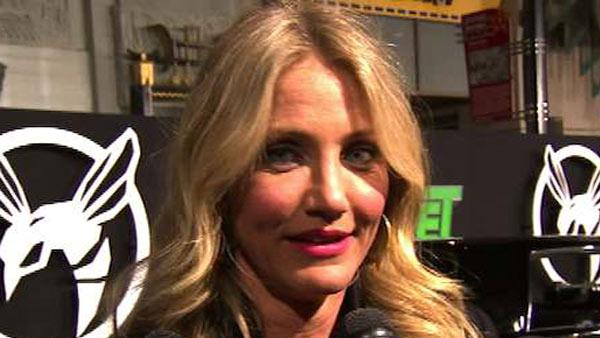 Cameron Diaz got smart for The Green Hornet - Provided courtesy of OTRC / Cameron Diaz talks to OnTheRedCarpet.com at the Hollywood premiere of The Green Hornet on January 11, 2011.
