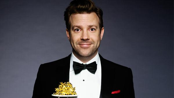 Jason Sudeikis poses in a promotional photo for the 2011 MTV Movie Awards. - Provided courtesy of MTV