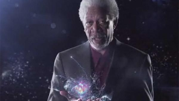 Morgan Freeman appears in a promotional video for his Science channel series Through The Wormhole, which returns for a second season on Jun 8, 2011. - Provided courtesy of Science Channel