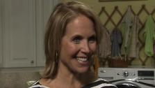 Katie Couric talks to OnTheRedCarpet.com about her new ABC talk show and deal on June 6, 2011. - Provided courtesy of OTRC