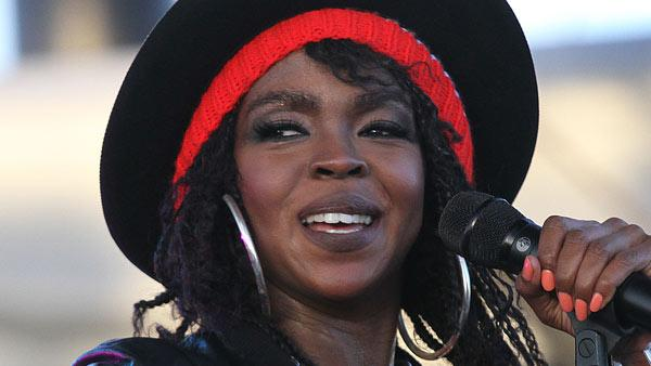 Lauryn Hill performs during 12th Coachella Valley Music and Arts Festival, Friday, April 15 2011, in Indio, Calif. - Provided courtesy of AP / AP Photo/Spencer Weiner