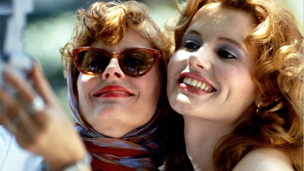 Susan Sarandon and Geena Davis appear in a scene from the 1991 movie Thelma and Louise. - Provided courtesy of Pathe Entertainment / MGM