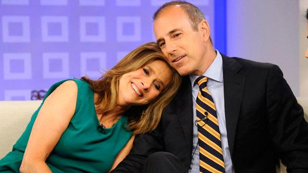 Meredith Vieira appears on the Today show for the last time on June 8, 2011 with Matt Lauer. - Provided courtesy of NBC / Peter Kramer