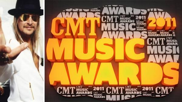 Kid Rock appears in a photo posted on his website. / The logo for the 2011 CMT Music Awards. - Provided courtesy of kidrock.com/photo/publicity-1/ / CMT
