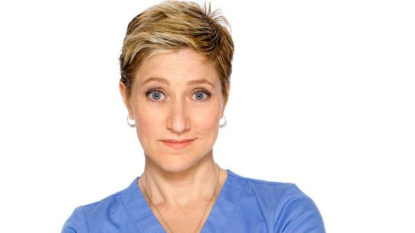 Edie Falco appears in a promotional still from Nurse Jackie. - Provided courtesy of Showtime