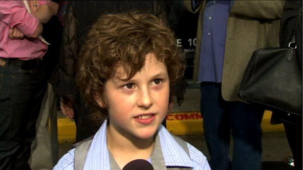 Nolan Gould talks to OnTheRedCarpet.com  at the premiere of the film Super 8 in Los Angeles, Wednesday, June 8, 2011. - Provided courtesy of OTRC