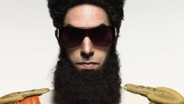 Sacha Baron Cohen appears in a promotional photo for the 2012 film The Dictator - Provided courtesy of Paramount Pictures
