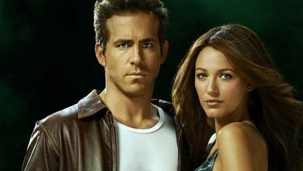 Ryan Reynolds and Blake Lively appear in a promotional photo for the 2011 film Green Lantern. - Provided courtesy of Warner Bros. Pictures