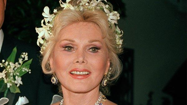 Actress Zsa Zsa Gabor appears with her eighth husband, Prince Frederic von Anhalt of Munich, on their wedding day in Los Angeles, Aug. 15, 1986. - Provided courtesy of AP