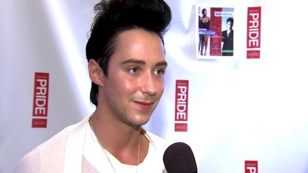 Johnny Weir talks to OnTheRedCarpet.com ahead of his debut as grand marshal of the Los Angeles pride parade. - Provided courtesy of OTRC