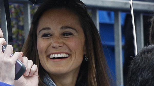 Pippa Middleton, sister of Kate, Duchess of Cambridge, is seen in the audience at the Queens Grass Court Championship in London, Thursday, June 9, 2011. - Provided courtesy of AP / Kirsty Wigglesworth