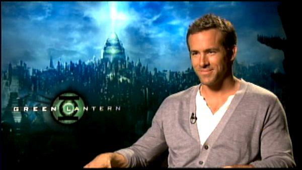 Ryan Reynolds talks 'Green Lantern'