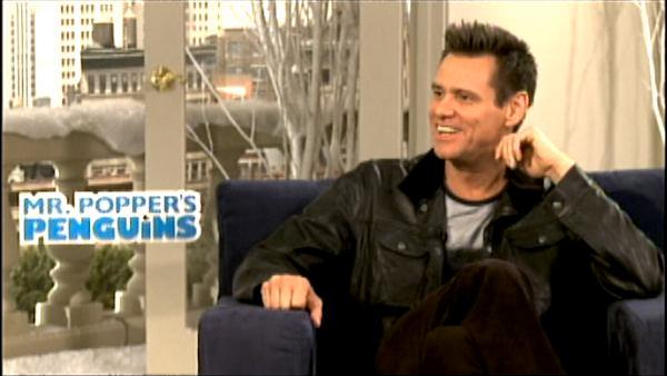 Jim Carrey talks 'Mr. Popper's Penguins'