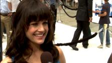 Carla Gugino talks to OnTheRedCarpet.com at the Hollywood premiere of Mr. Poppers Penguins. - Provided courtesy of OTRC
