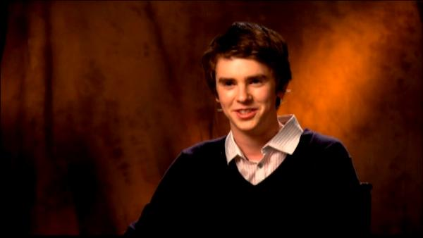 Freddie Highmore on 'The Art of Getting By'
