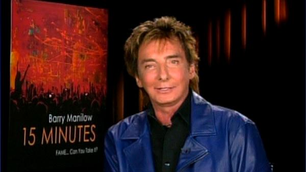 Barry Manilow talks to OnTheRedCarpet.com in a satellite interview. - Provided courtesy of OTRC