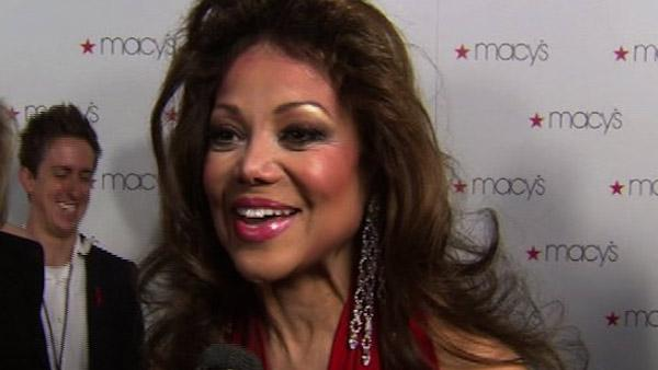 La Toya Jackson speaks to OnTheRedCarpet.com at the Macys Passport Glamorama event in Los Angeles on Sept. 16, 2010. - Provided courtesy of OTRC