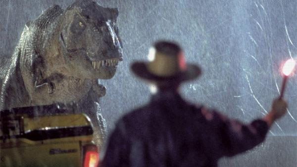 A scene from the 1993 movie Jurassic Park. - Provided courtesy of Universal Pictures