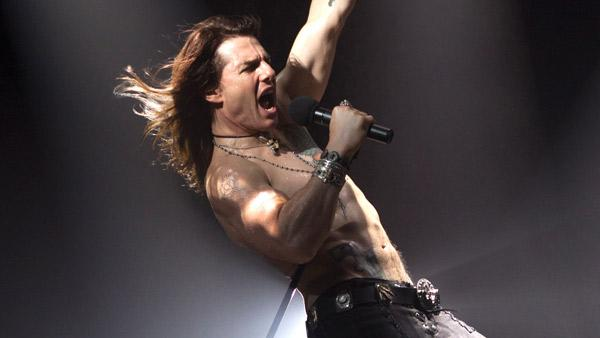 Tom Cruise appears as Stacee Jaxx from his upcoming movie Rock of Ages, in a photo posted on his personal website, TomCruise.com. - Provided courtesy of TomCruise.com