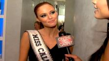 Several contestants in the 2011 Miss USA pageant talk to OnTheRedCarpet.com host Rachel Smith, who was Miss USA 2007. - Provided courtesy of OTRC / OnTheRedCarpet.com