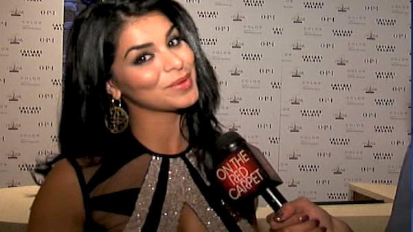 Former Miss USA 2010 Rima Fakih talks to OnTheRedCarpet.com host Rachel Smith, who was Miss USA 2007 before the 2011 Miss USA pageant. - Provided courtesy of OTRC / OnTheRedCarpet.com