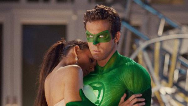 Ryan Reynolds and Blake Lively appear in a still from Green Lantern. - Provided courtesy of Warner Bros. Entertainment Inc.