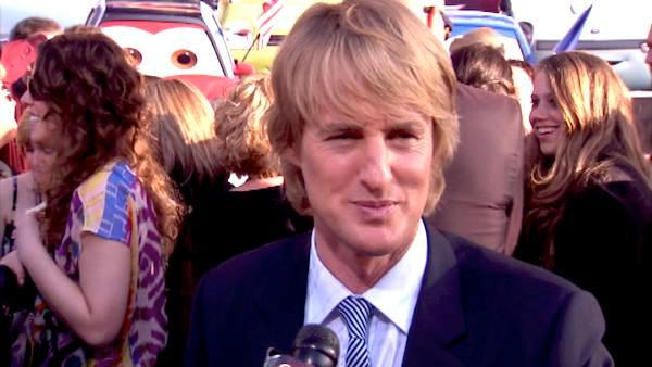 Owen Wilson talks first car and 'Cars 2'