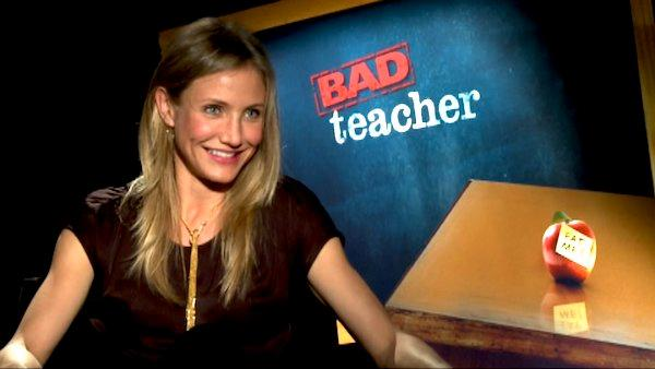 Cameron Diaz talks 'Bad Teacher'
