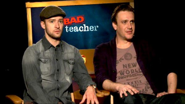 Justin Timberlake and Jason Segel talk 'Bad Teacher'