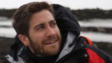 Jake Gyllenhaal appears with Bear Grylls in an episode of Man Vs. Wild in Iceland. The episode is set to air July 11, at 9 p.m. on the Discovery Channel. - Provided courtesy of Discovery