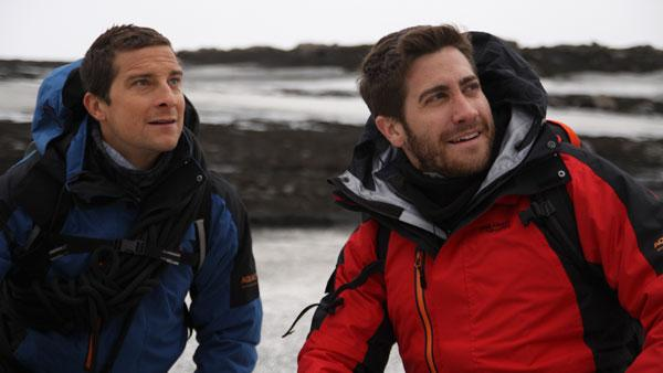 Jake Gyllenhaal on Man Vs. Wild - Provided courtesy of OTRC / Discovery